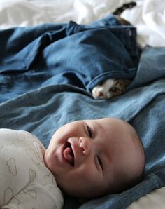 Why kids need pets. These pictures are too cute! I just hope that when we do have kids Princess isn't the mean cat! So Cute Baby, Cute Kids, Cute Babies, Fun Baby, Baby Cats, Cats And Kittens, Baby Animals, Funny Animals, Cute Animals