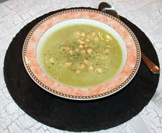 Zucchini-Haferflocken-Suppe Vegan, Palak Paneer, Zucchini, Ethnic Recipes, Food, Meat, Cooking, Eat Lunch, Food Portions