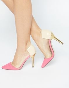 Zapatos de salón con detalles calados de Paper Dolls