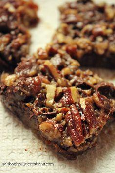 Saltbox House: Chunky Pecan Pie Bars