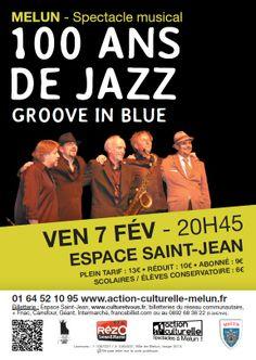 """""""100 ans de Jazz""""  Saison culturelle 2013-2014 Melun / ©Mdalpra"""