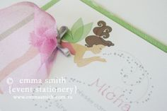 Fairy Invites for your little princess. www.emmamith.com.au