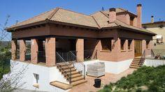 #Casas #Rustico #Exterior #Jardín #Escalera #Puertas #Fachada #Vidrio #Barandillas #Plantas #Tejado #Peldaños #Ventanas