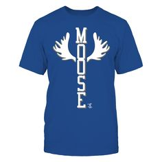 Mike Moustakas - Moose Antlers T-Shirt, Mike Moustakas Official Apparel - this licensed gear is the perfect clothing for fans. Makes a fun gift!  The Mike Moustakas Collection, OFFICIAL MERCHANDISE  Available Products:          Gildan Unisex T-Shirt - $24.95 Gildan Women's T-Shirt - $26.95 Next Level Women's Premium Racerback Tank - $29.95 District Men's Premium T-Shirt - $27.95 District Women's Premium T-Shirt - $29.95 Gildan Unisex Pullover Hoodie - $44.95 Gildan Long-Sleeve T-Shirt…