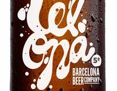 Barcelona beer label