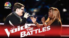 """Unicorn vs. Unicorn / The Voice 2015 Battle - Jordan Smith vs. Regina Love: """"Like I Can"""""""