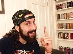 My two loves: Avi and books