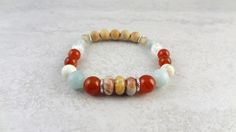 Get Infused with a Wellness Beads Raw Wood Infusible Diffuser Bracelet Essential Oil Diffuser, Essential Oils, Raw Wood, Burnt Orange, Beaded Bracelets, Wellness, Beads, Gifts, Color
