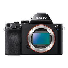 α7s: aparat zmocowaniem typu E ipełnoklatkowym przetwornikiem obrazu: