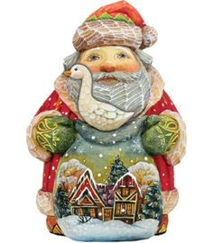 27 G Debrekht Christmas Ideas Santa Figurines Christmas Santa