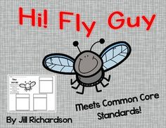 Hi! Fly Guy by Tedd Arnold is a classroom favorite! Use these 9 common core aligned activities in a small guided reading group, literacy center or as independent work. Hi! Fly Guy is a level I guided reading level.