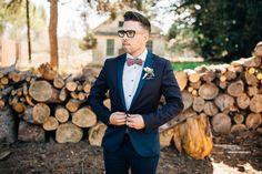 Vintage California Barn Wedding: Lauryn + Andrew | Green Wedding ...
