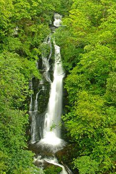 Pitlochry - black spout waterfall  http://pinterest.com/torrdarach/ This lovely waterfall is a short walk away