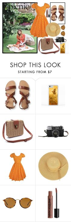 """""""Picnic In The Park"""" by beerrks ❤ liked on Polyvore featuring Aéropostale, WithChic, Ray-Ban, Charlotte Russe and picnic"""