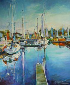Galeria Szczęśliwych Obrazów: Kołobrzeg, przystań dla jachtów