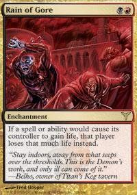 Magic: the Gathering - Rain of Gore - Dissension Magic: the Gathering