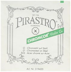 Pirastro 319420 44 Size Bronze Chromcor Steel Core Violin G String Mittel Envelope -- Read more reviews of the product by visiting the link on the image.Note:It is affiliate link to Amazon. #70likes