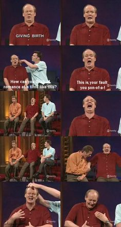 Whose Line is it Anyway :) can't wait for this show to come back.