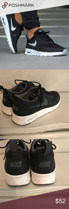 Nike Air Max Thea 9 Nike Air Max Thea size 9, only worn once! Tried on and worn to the mall. Amazing, perfect condition. Pictures are accurate. So cute! Nike Shoes Athletic Shoes