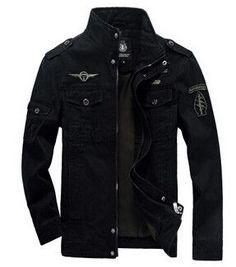 Men Jackets Outerwear Embroidery Mens Jacket for Aeronautica Militare 1f6203e47e9f