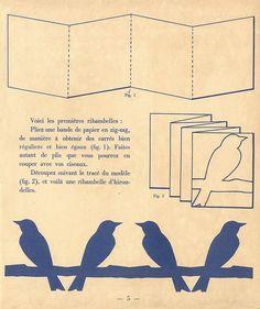 Paper Bird Chain ♥
