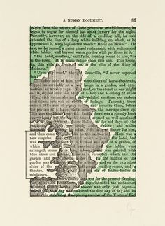 Tom Phillips '[no title: p. Poetry Art, Poetry Books, Poetry Quotes, Book Page Art, Book Art, Erasure Poetry, Tom Phillips, Found Poetry, Blackout Poetry