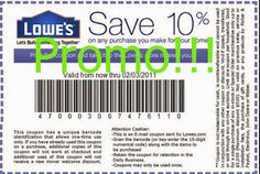 coupons for Lowes Home Improvement