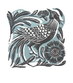 Amanda Colville is a printmaker and artist with a passion for all things print, pattern and colour. Using an old washing mangle as a printing press,