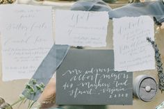 Gray and White Wedding Invitations | photography by http://elizabethfogartyphotography.com/