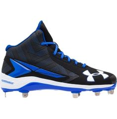 Under Armour Men S Renegade Rm Mid Football Cleat Black
