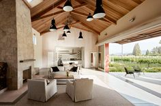 napa barn | anderson architects | Archinect
