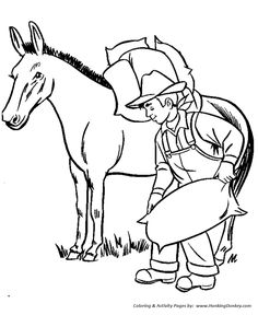 farm animal coloring page free printable farm mule coloring pages featuring hundreds of farm animals coloring page sheets