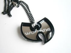 Hip Hop Pendant – Laser Cut and Engraved Wu Tang Necklace