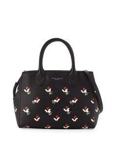 Marc Jacobs Painted Bags, Gotham, Black Tote Bag, Fall Wardrobe, Tulips, fa43bae6c5ac