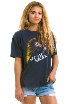 Vintage 1986 Stevie Nicks Tour Tee - One Size Fits Many – Tunnel Vision