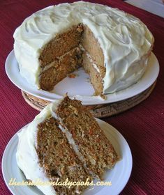 This old fashioned carrot cake is one of the best cakes on my site. My family loves it. I can make this cake and it won't last two days.