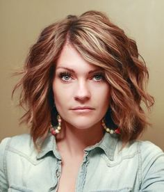 Hairstyles For Thick Hair Hairstyles For Thick Wavy Hair Heart Shaped Face  Google Search