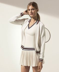 b0b662481905 Tory Burch Interview on Launching Tory Sport Workout and Athleisure for  Fall 2015 Tennis Wear
