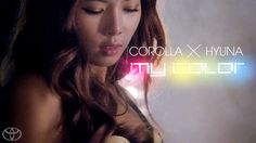 [OFFICIAL MUSIC VIDEO] COROLLA X HYUNA -- MY COLOR (2 minute version) - My Color is the brand new hit single from Toyota Corolla and the queen of K-pop, HyunA. The Corolla. There's reliable, then there's Corolla reliable. That's why our drivers drive one.