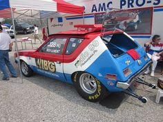 1972 AMC Gremlin X Pro Stock    One of only three factory Pro Stock Gremlins, Rich Lamont's WIBG car continues to race under its original colors.