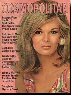 Cosmopolitan magazine, JUNE 1967 Model: Anne Anka