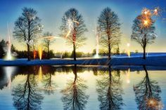 Buy Winter fireworks, Manipulated photograph (Giclée) by Andrej Barov on Artfinder. Discover thousands of other original paintings, prints, sculptures and photography from independent artists.