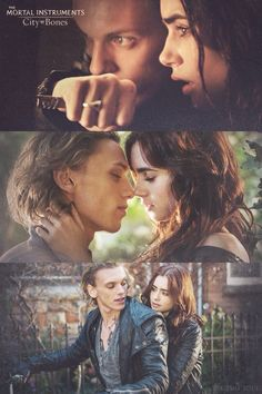 The mortal instruments city of bones Jace & Clary