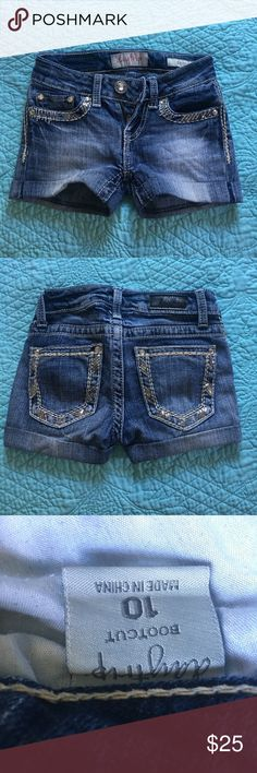 Daytrip shorts kids size 10! Daytrip shorts in a kids size 10! They were once jeans and cut off to fit like regular size 10 kids shorts! Rarely worn and in very good condition! Daytrip Bottoms Shorts