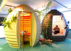 Google's Cocoon space in Zurich Switzerland.