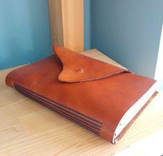 Items similar to Red brown - handmade leather journal on Etsy Leather Journal, Handmade Leather, Sunglasses Case, Brown, Red, Stuff To Buy, Etsy, Leather Diary, Chocolates