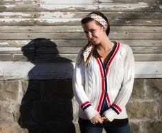 1960s Tennis Sweater