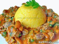 Tocanita de pipote si inimi Guacamole, Baked Potato, Potatoes, Eggs, Baking, Breakfast, Ethnic Recipes, Food, Morning Coffee