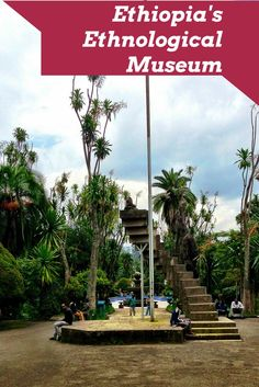9450b81cc885 An education in Ethiopian culture and history at the Ethnological Museum in  Addis Ababa. Haile