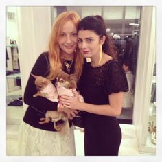 With Lucilla Bonaccorsi